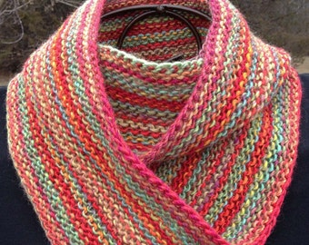Simply Knit Moebius or Infinity Cowl Pattern