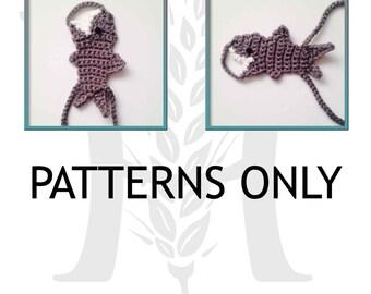 Barefoot Shark Sandals Crochet Pattern Boys Girls