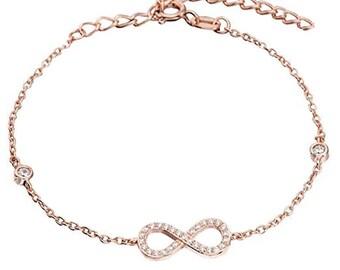 Infinity bracelet, infinity symbol bracelet, rose gold infinity bracelet, silver infinity bracelet, infinity bracelet rose gold, infinity
