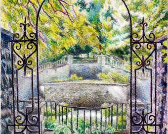 Sunken Gardens, Rochester NY
