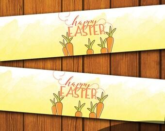 Mason Jar Printable Label / Happy Easter / Mason Jar / Instant Download / Digital Download / Easter / Spring