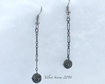 handmade jewelry, handmade earrings, mothers day gift, drop earrings, dangle earrings, repurposed jewelry, beaded earrings, filigree beads