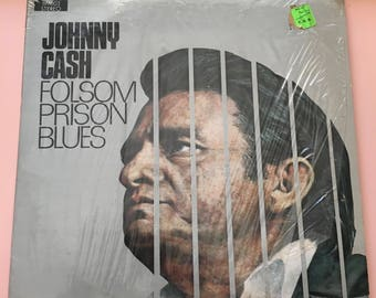 1971 Johnny Cash Folsom Prison Blues - Birchmount Stereo - Made in Canada by Quality Records - Country Music - Vinyl Record LP