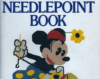 Walt Disney Characters NeedlePoint Book hardcover book