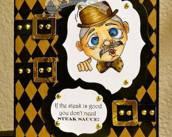 2218 Little Old Mister Digi Stamp