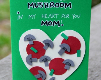 Mother's Day Card, Card for Mom, Pizza Card