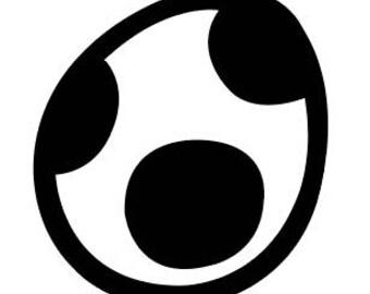 Yoshi Egg Vinyl Sticker