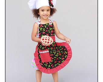 Apron for Children Cherry