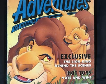 1994 Disney Adventures **Collectors Issue**Lion King