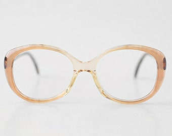 NOS Rodenstock Bettina round eyeglasses / Translucent Glasses / Womens Frames / Deadstock eyewear - 80s