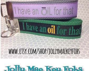 Essential oils key fob