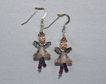Peach Pixie Earrings