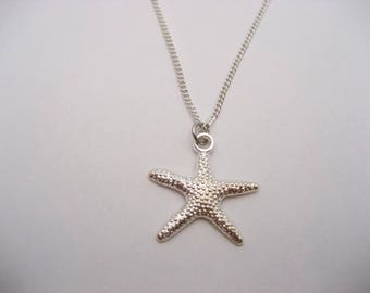 Starfish Necklace, Ocean Necklace, Ocean Jewelry, Starfish Jewelry,  Beach Jewelry, Beach Necklace, Choose Your Chain