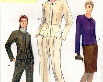 Vogue Pattern 7149 Misses Easy Jacket, Skirt & Pants 18-22 UNCUT