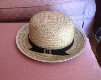 Boy's straw hat