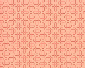 Front Porch - Lattice Peach by Sherri & Chelsi for Moda, 1/2 yard, 37545 13