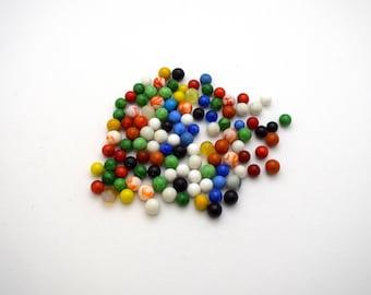 Vintage Assorted Marbles