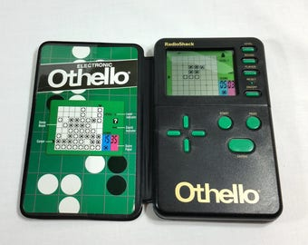Othello Vintage 1995 Electronic Hand Held Game Radioshack Tested and Working