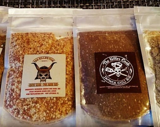 Featured listing image: The Killer Cook's Smoke Stash (grab bag)