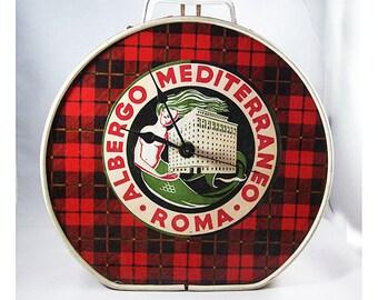 retro mermaid clock 1950's pin up vintage nautical rockabilly kitsch wall clock choose one