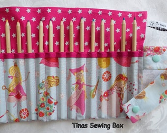 pencil roll with little faries