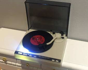 1:12 Scale Dollhouse Record Player Turntable Music Room Miniature