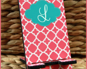 Gifts for Employees Cell Phone Stand Monogrammed Gift Personalized Mobile Desk Accessories Charger Stand Personalized New Job Coworker Gift