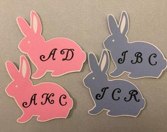 Bunny Name tags