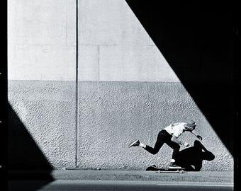"Tod Swank Push Photo - Un-cropped Version 18X24"" Skateboarding"