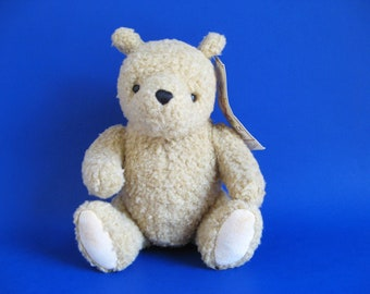 Vintage Winnie the Pooh Teddy Bear Stuffed Animal Toy by Gund Classic Pooh 1990s Toy Plush