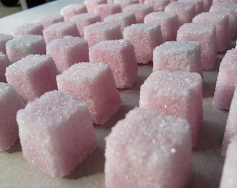 COLORED Sugar Cubes Pick YOUR COLOR (80) Tea Parties, Champagne Toasts, Tea Bars, Coffee, diy Favors, Candy Bars, Gift Ideas