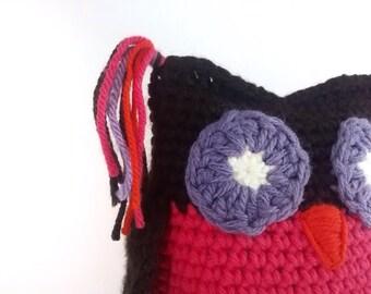 Oliver and Ollie, Owl, Owl decor, Woodland nursery, Owl gift, Crochet owl, Owl toy, Plush owl, Stuffed owl