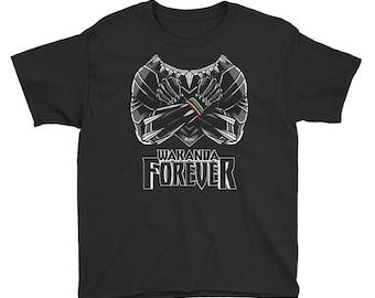 Wakanda Forever T-Shirt (Youth)