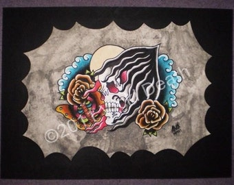 Reaper Original Tattoo Art