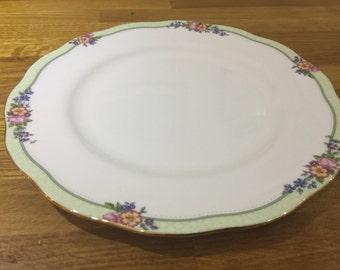 royal albert dinner plate, harlington plate, bone china ref 10