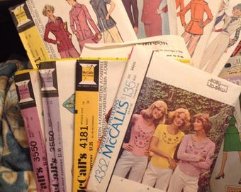 8 Vintage McCalls  patterns. Your choice . NEW