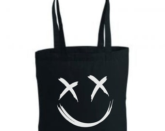Louis Tomlinson Smiley tote bag