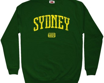 Sydney Australia Sweatshirt - Men S M L XL 2x 3x - Crewneck Sydney Shirt - 4 Colors