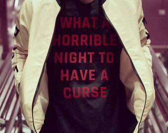 Castlevania T Shirt, Castlevania, Simon's Quest, Dracula, Curse, Halloween Shirt, Halloween Costume, Spooky, Scary, Castlevania Quote Shirt