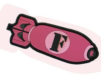 Pink F-Bomb - PVC Morale Patch