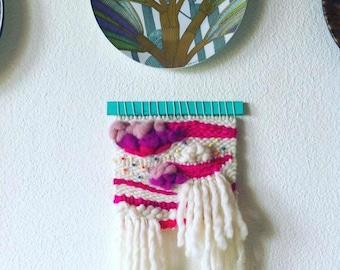 Weaving Loom , Wall Hanging , Wall Decor