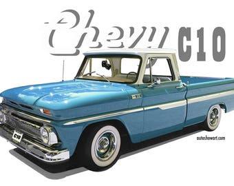 Chevrolet C10 Pickup T-Shirt