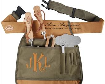 Garden Tool Belt, Garden Apron, Personalized Garden Apron, Mother's Day