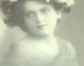 SALE Sweet Vintage RPPC (Little Girl. Child)