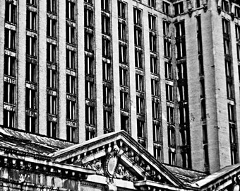 Detroit Photography - Michigan Central Station - 8x12