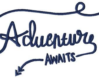 Adventure Awaits Embroidery File