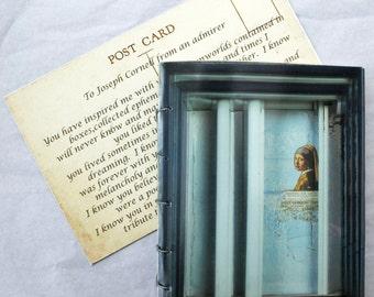 Joseph Cornell,  handmade book, artist book, coptic stitched book, artist's gift, hand bound book, book gift, art gift,  Book Art, book gift