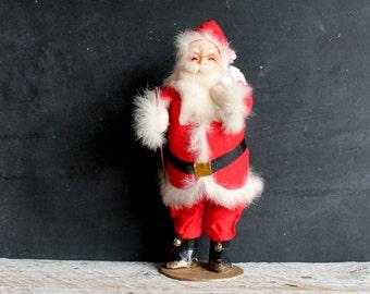 Antique Santa Claus, Vintage Fifties Christmas Doll
