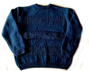 Navy blue sweater 12