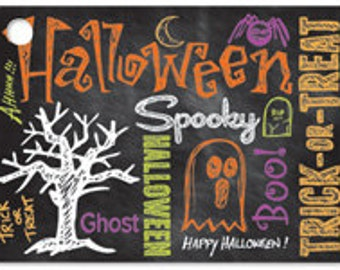 Halloween Blank Note Card, Gift Card for Halloween, Spooky Blank Note Card, Happy Halloween, Trick or Treat Note Card,